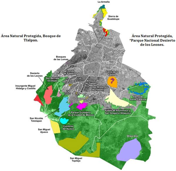 comunitaria de conservacin ecolgica las cuales abarcan una superficie de hectreas que representan del suelo de conservacin de la cdmx