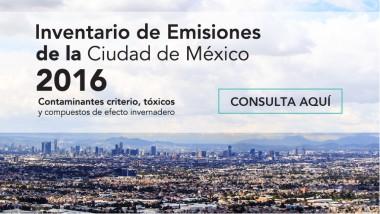 Inventario de Emisiones de la Ciudad de México 2016