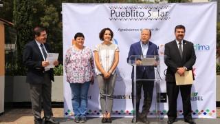 """Inauguran Iniciativa Climática de México y Sedema la Exposición """"Pueblito Solar"""""""