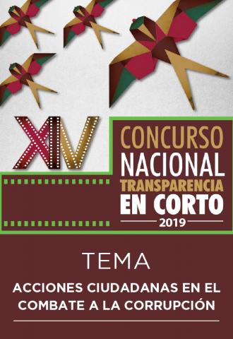 Convocatoria - XIV Concurso Nacional Transparencia en Corto 2019