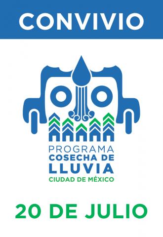 Convivio del Programa de Cosecha de Lluvia Ciudad de México