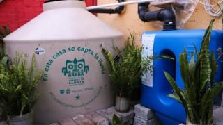 Atiende Sedema más de 5 mil 700 solicitudes para cosechar la lluvia