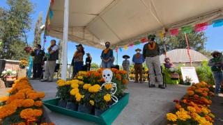 Arranca expo venta de cempasúchil y ruta agroturística en San Luis Tlaxialtemalco