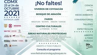 """Llega """"Festival Nacional por el Agua y los Bosques"""" a la Ciudad de México"""